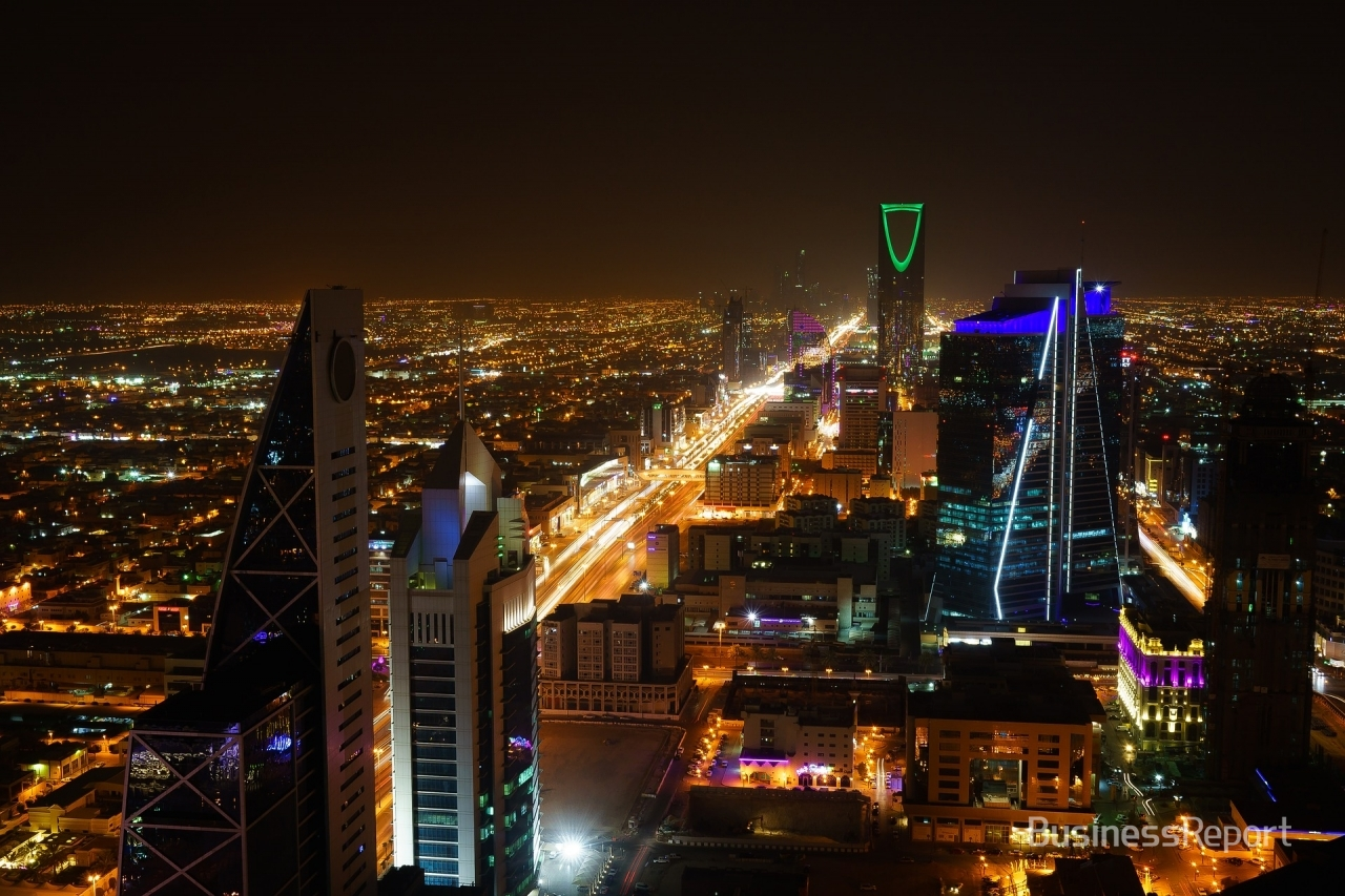 The night view of downtown Riyadh, Saudi Arabia.(Photo=pixabay)